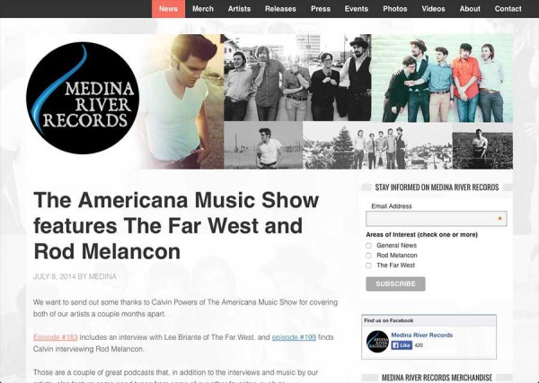 Medina River Records